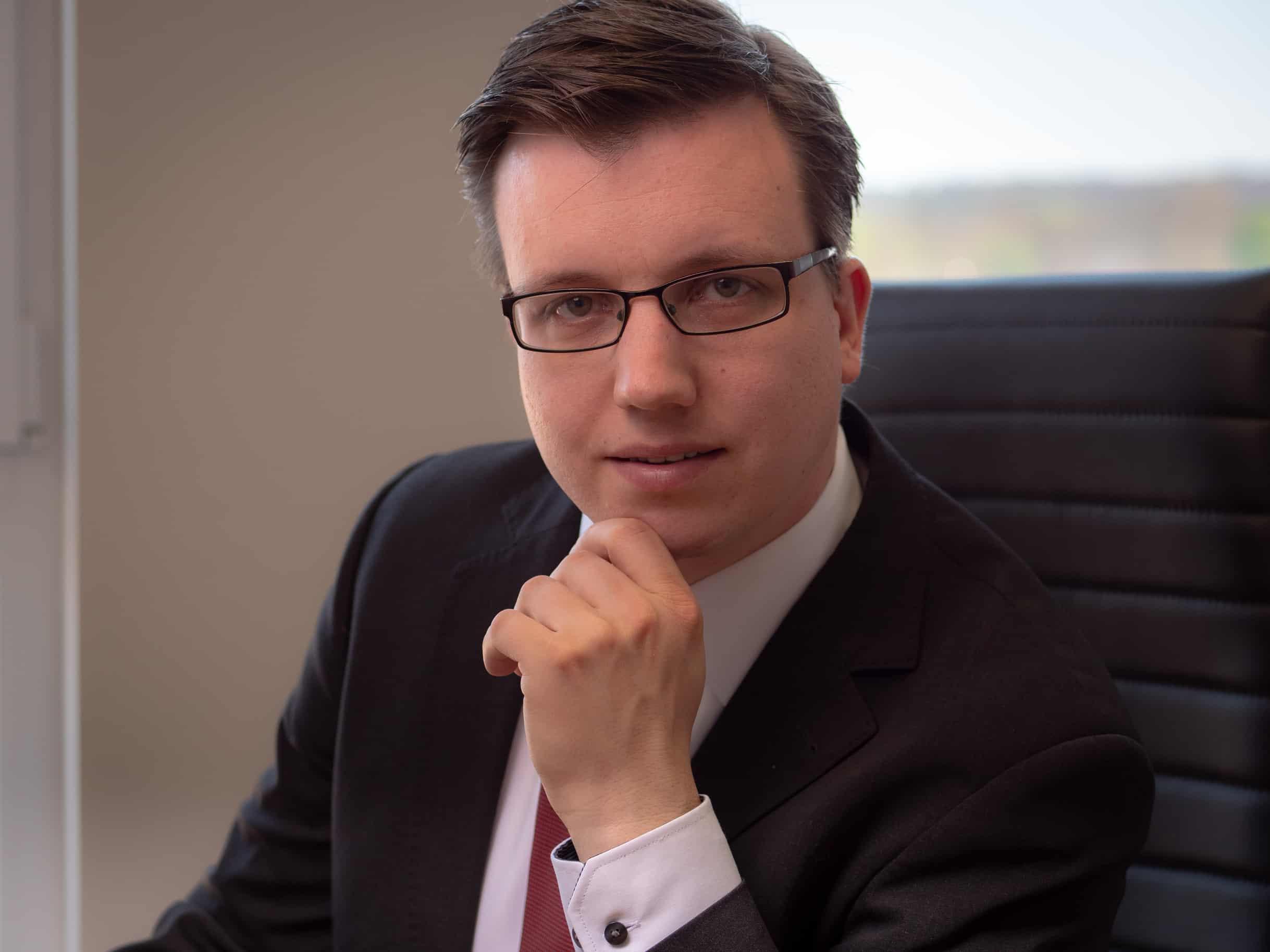 Rechtsanwalt Zechlin Arbeitsplatz