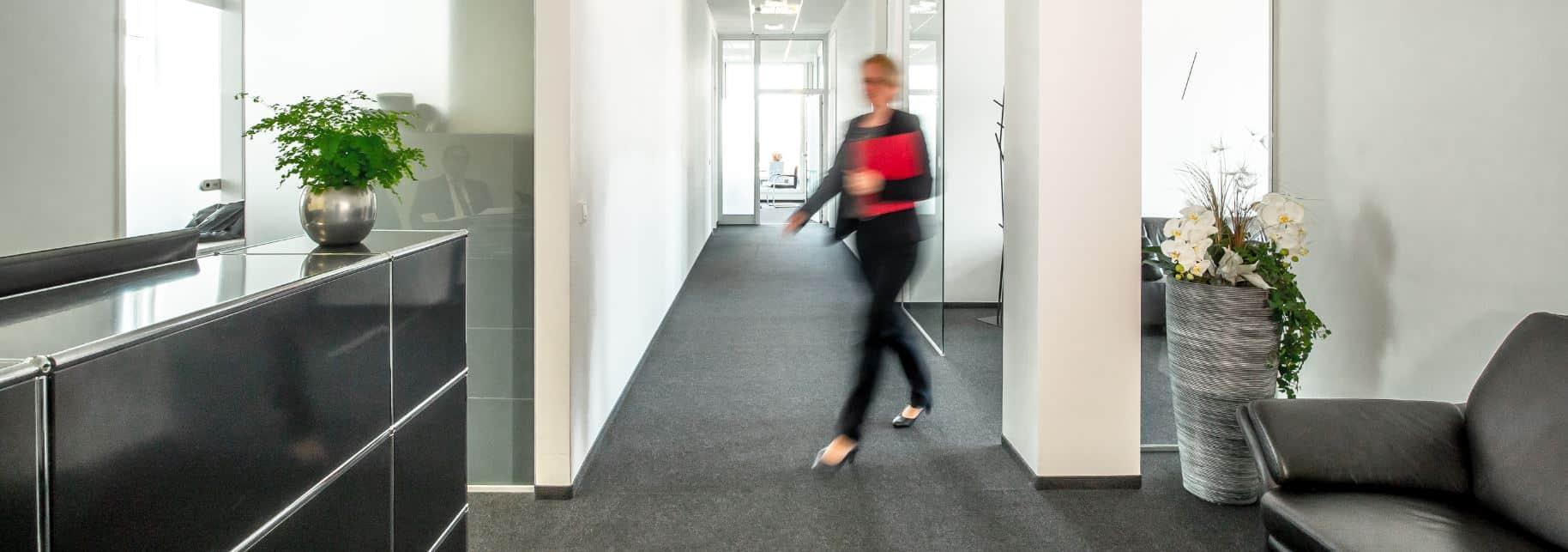 Innenaufnahme der kanzleiräumlichkeiten der Rechtsanwälte Goossens Brieger Breuers Zechlin